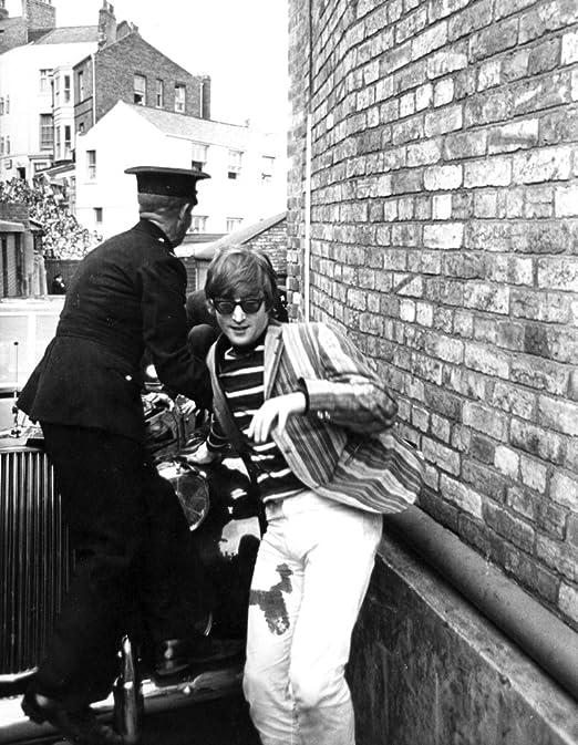 Amazon Com John Lennon By A Police Officer Photo Print 8 X 10 Home Kitchen
