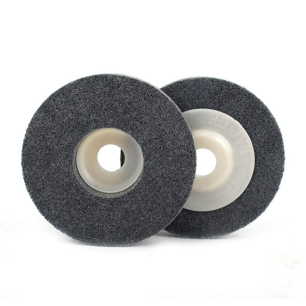 Amazon.com: 5 discos abrasivos de fibra de nailon para pulir ...