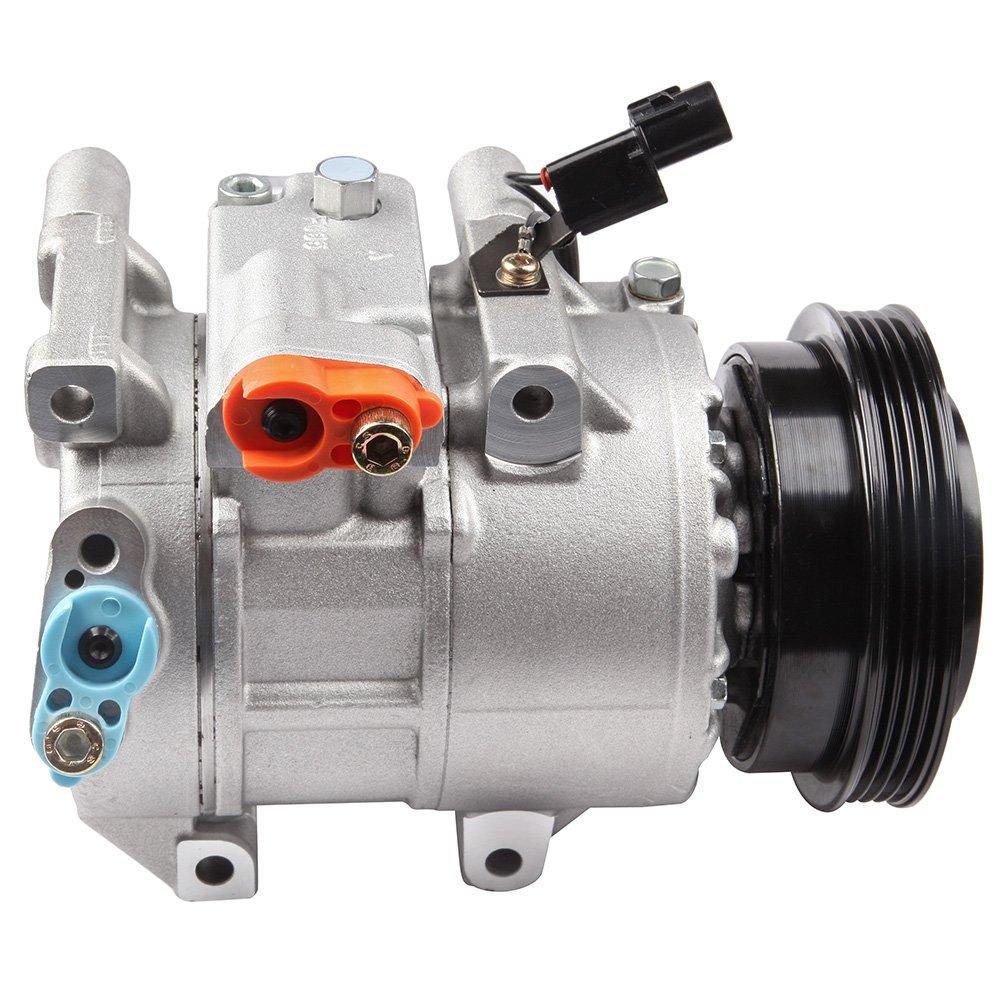 Eccpp 2006 2011 A C Compressor W Cluth Fits16l 2007 Kia Rio 1 6l Engine 2008 2009 2010 Rio5 Automotive