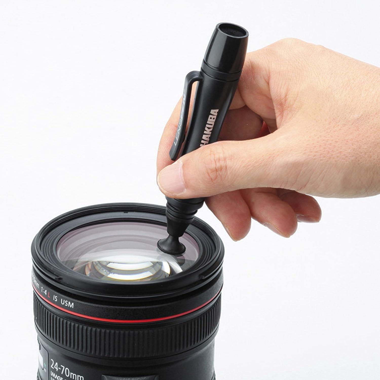 レンズペンを使用している様子の写真