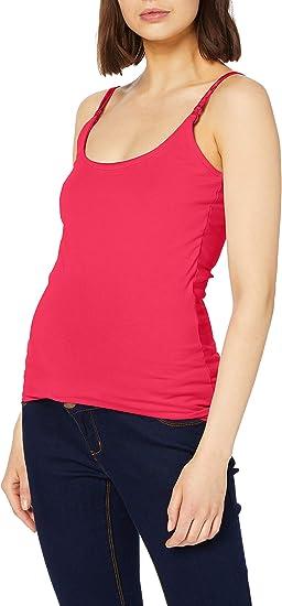 Esprit Maternity Spaghetti Top Nursing Canotta Premaman Donna