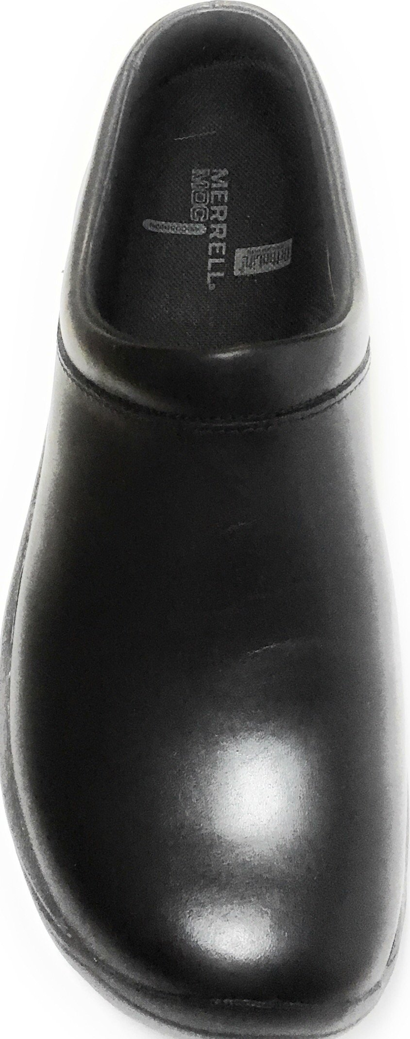 Merrell Men's Encore Gust Slip-On Shoe,Smooth Black Leather,11.5 M US