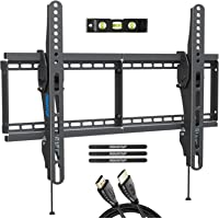 MOUNTUP TV Wall Mount, Tilting TV Mount Bracket for Most 37-70 Inch Flat Screen/Curved TVs, Low Profile Wall Mount with…