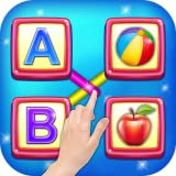 alphabets for kids - Matching Object Educational