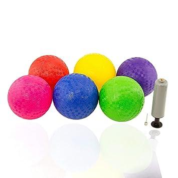 Amazon.com: Balón inflable CCFriday de 7 pulgadas, pelota de ...
