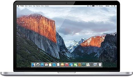 Apple MacBook Pro 15.4-Inch Retina Display Mid 2015 - Intel Core i7 2.5GHz, 16GB RAM, 512GB SSD - Plata (US Keyboard) (Reacondicionado): Amazon.es: Informática