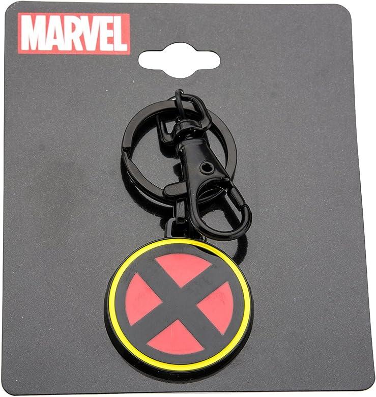 Marvel Comics X-Men - Llavero de Acero Inoxidable para Hombre ...