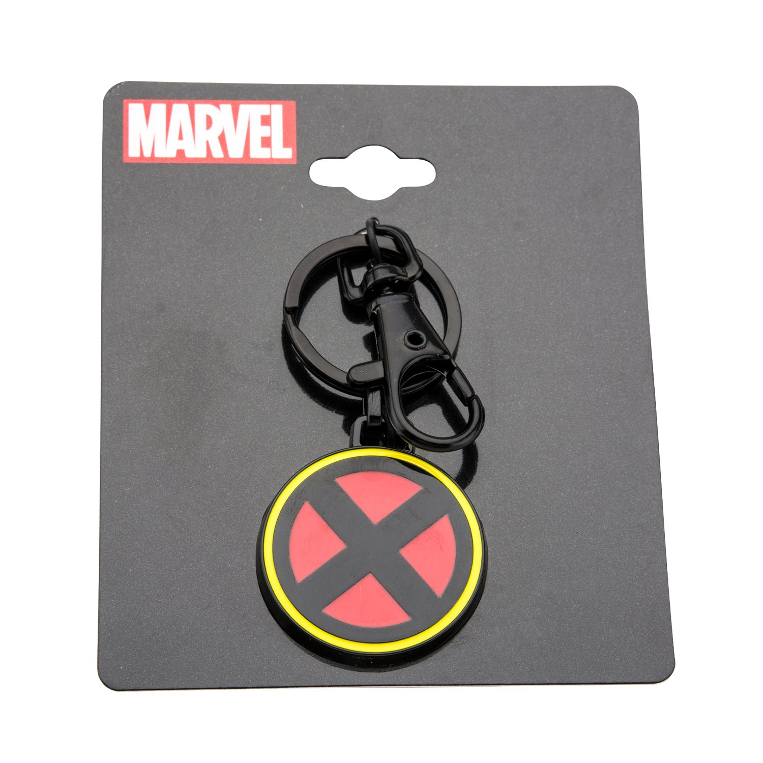 Amazon.com: Marvel X-Men Logo Negro Llavero Ip: Jewelry