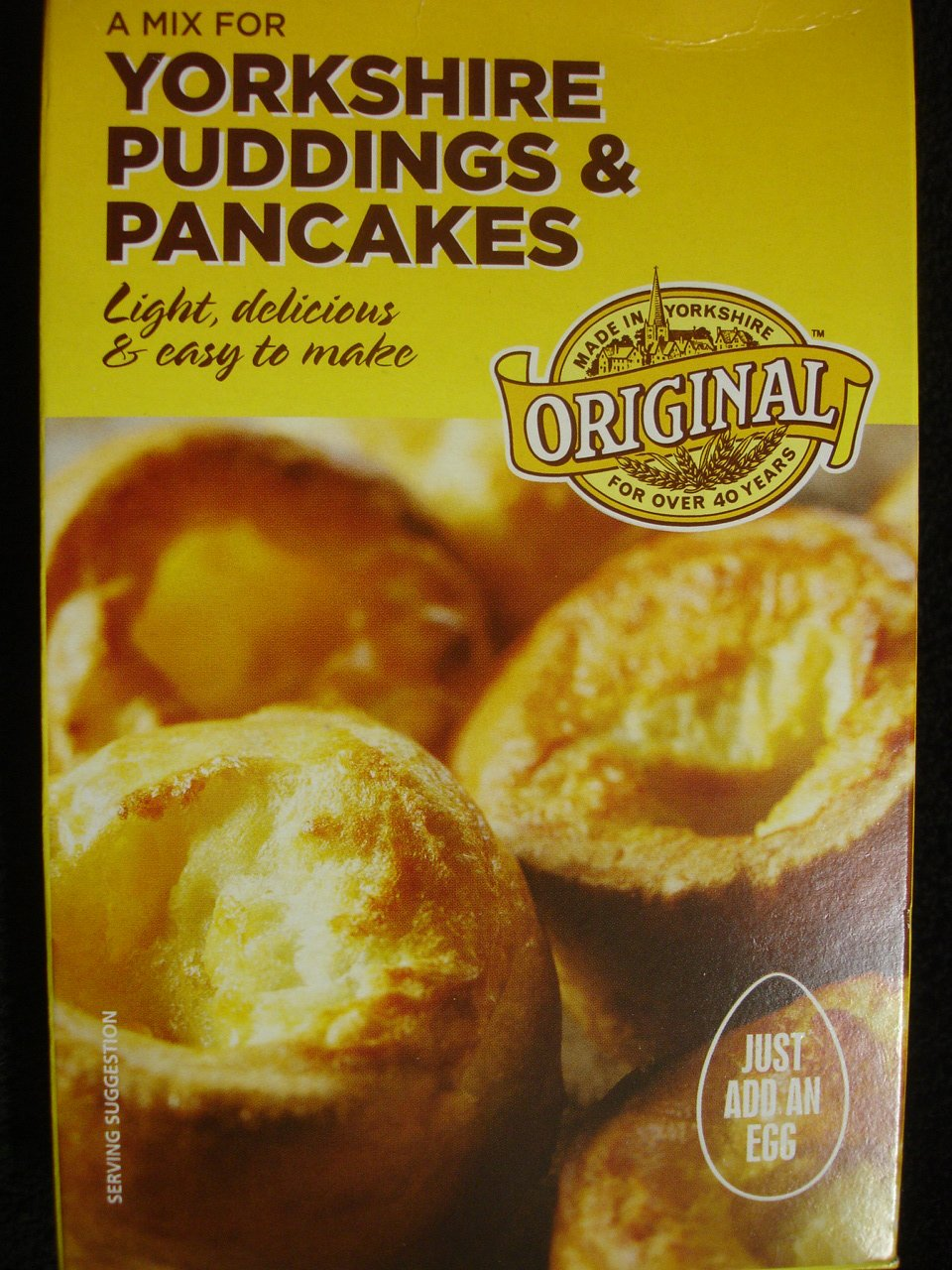 Goldenfry ''Yorkshire Pudding & British Pancake Mix'' 142g /5oz