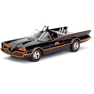 Jada 1966 TV Series Classic Batman Batmobile 1/32 Diecast Model Car F977-98225: Toys & Games