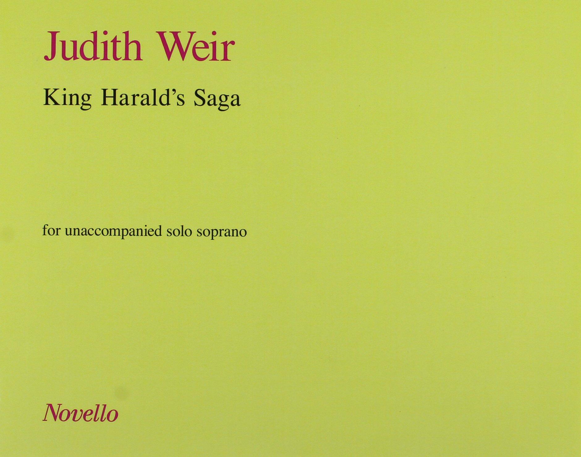 Read Online Judith Weir: King Harald's Saga PDF