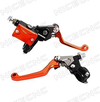 MZS Pivot Clutch Brake Levers CNC For HONDA CR80//85R CR125//250R CRF150//250//450R