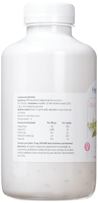 H4U - H4U Aceite de Onagra 450 perlas de 640 mg: Amazon.es: Salud y cuidado personal