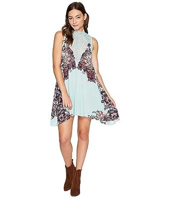 177c505b9c1e Free People Women's Marsha Printed Slip Dress at Amazon Women's Clothing  store: