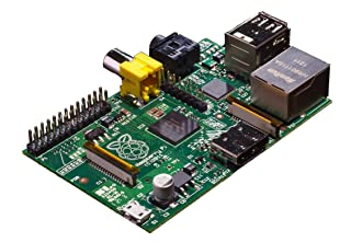 Raspberry Pi RBCA000 Model B - Placa base (ARM 1176JZF-S, 512 MB de RAM, HDMI, 2 x USB 2.0, 3,5 W)