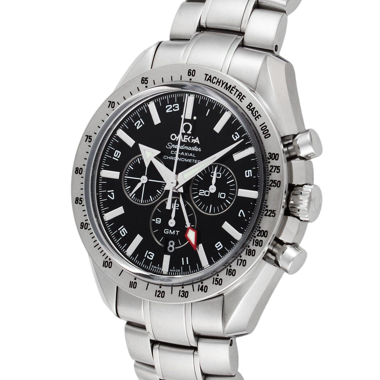 [オメガ]OMEGA 腕時計 スピードマスター ブロードアロー ブラック文字盤 自動巻 クロノグラフ 3581.50