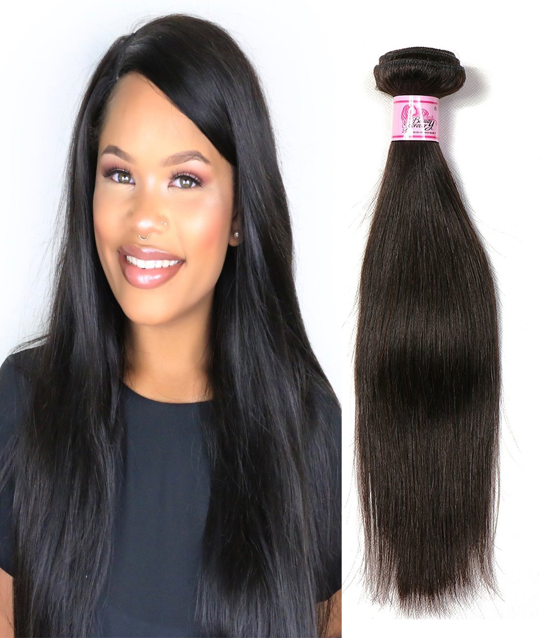 Amazon Beauty Forever Brazilian Straight Hair 1 Bundle 95 100g