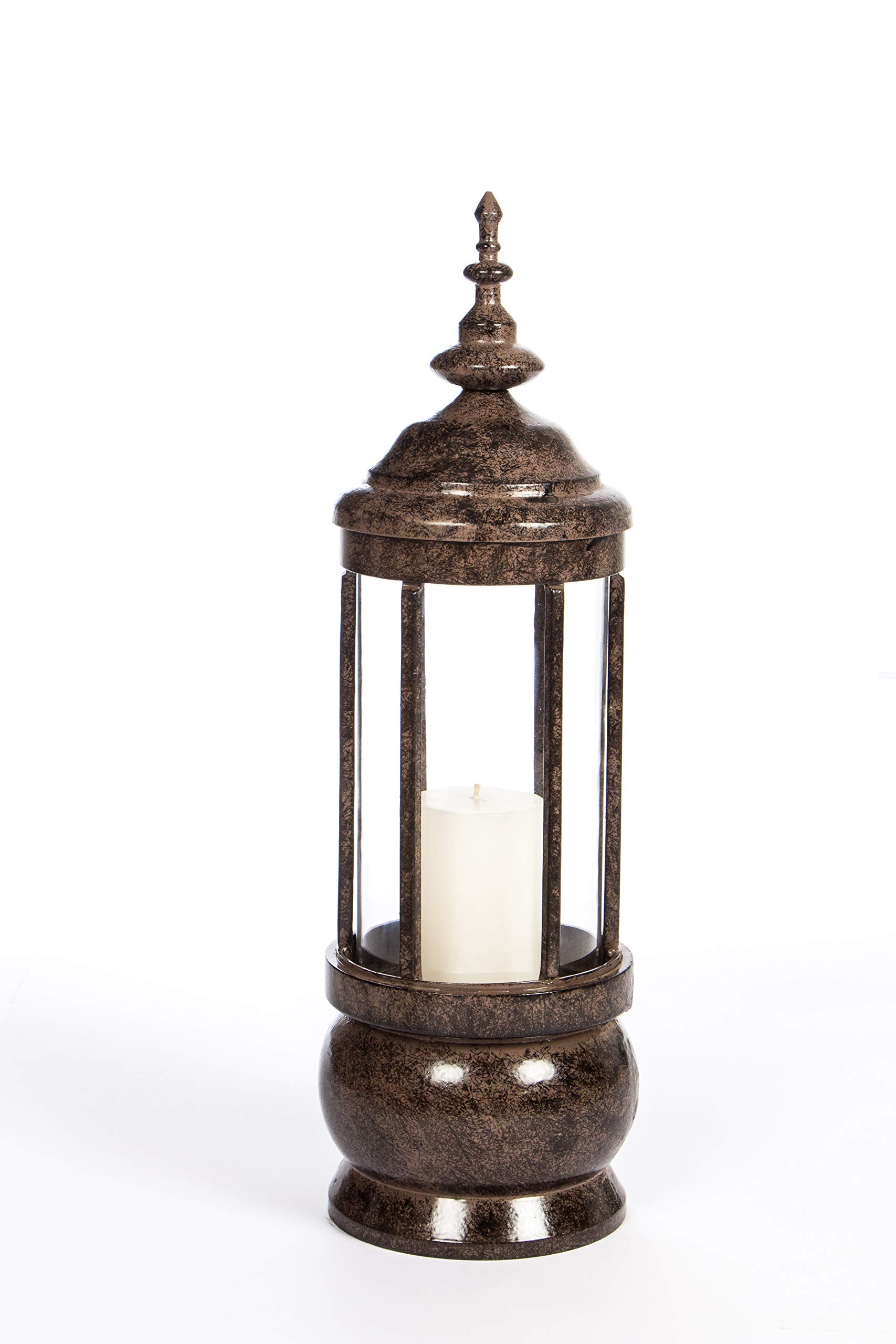 H Potter Hurricane Candle Holder Decorative Candle Lantern (Small)
