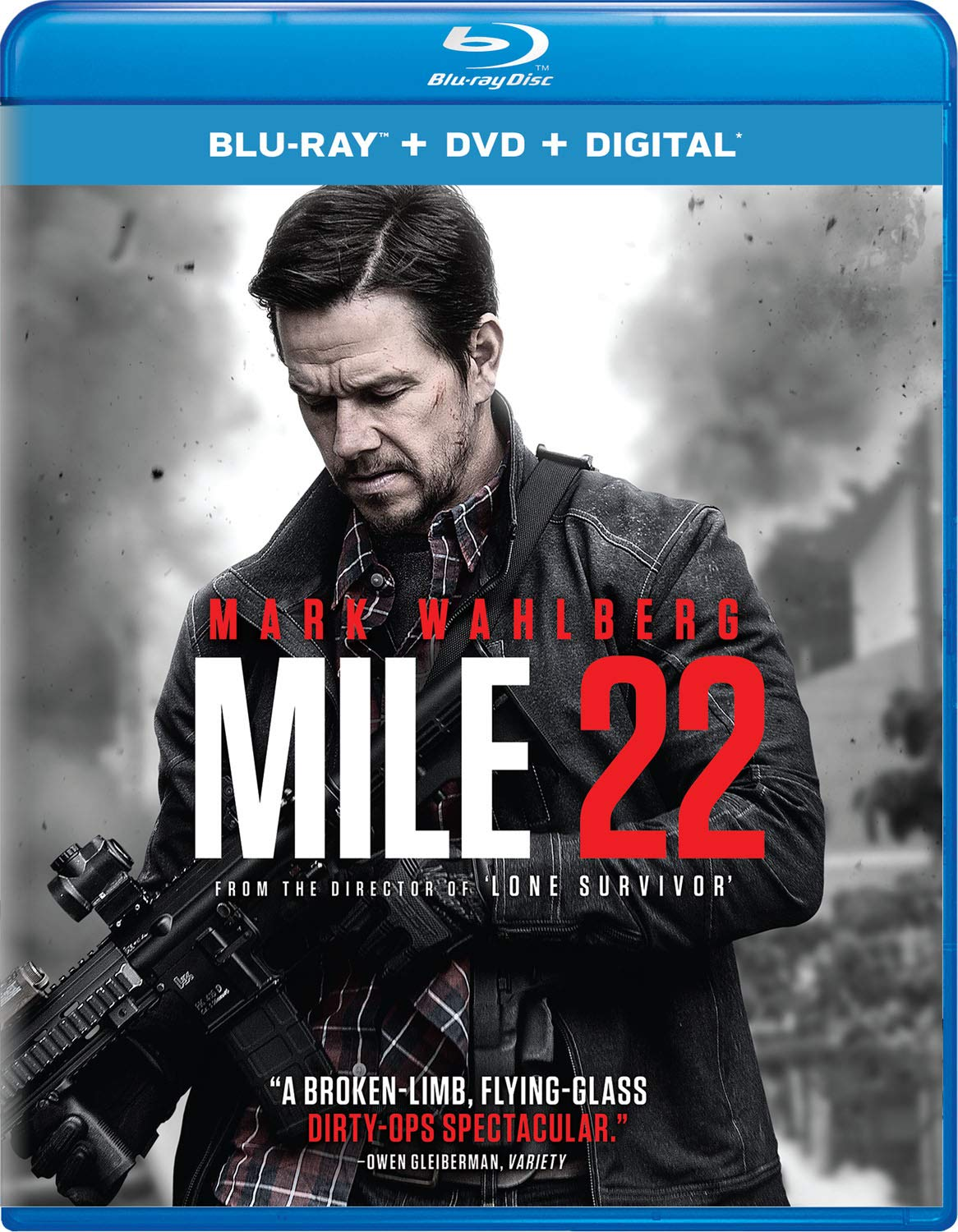 Blu-ray : Mile 22 (With DVD, Digital Copy, 2 Pack)