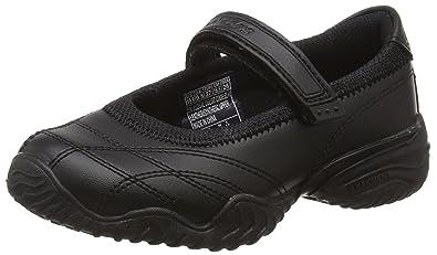 b9e49b03f87c Skechers Girl s Velocity Pouty Shoes US1 Black