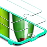 Pellicola iPhone 8 Plus / iPhone 7 Plus [2 Packs][Kit di Installazione Gratis], ESR Pellicola Vetro Temperato [Anti-Graffo/Olio/Impronta] con 9H Durezza Protezione Elevata per iPhone 8/7/6S/6 Plus da 5.5 Pollici.