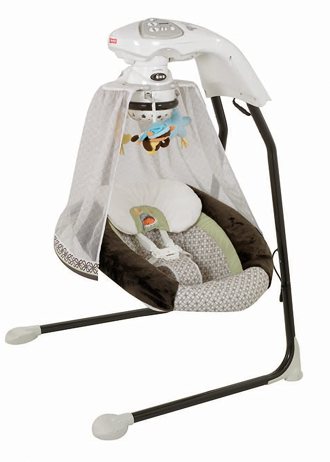 Fisher Price Cradle Swing Papsan Neutral