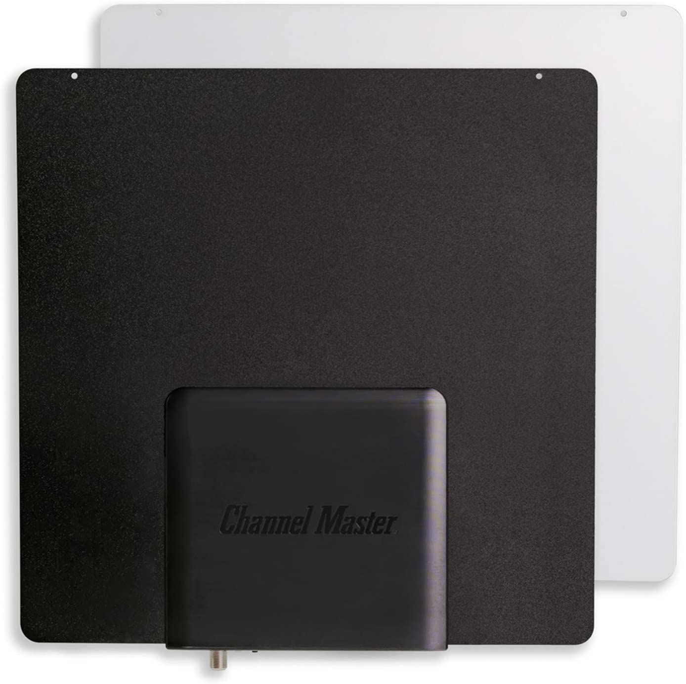 CM3001HD Amplified Indoor TV Antenna with Active Steering Channel Master SMARTenna Reversible Black//White