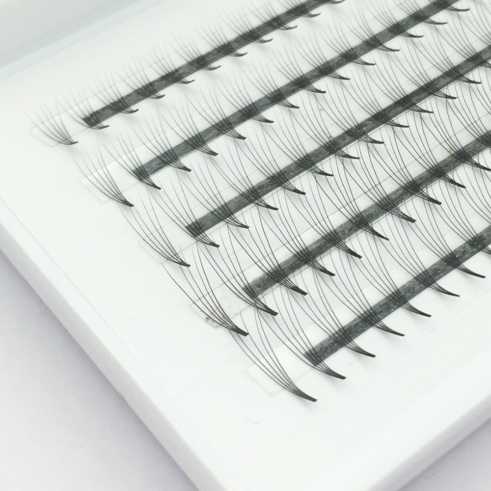 Amazon 100pcs 8d Premade Volume Eyelash Extensions C Curl 007