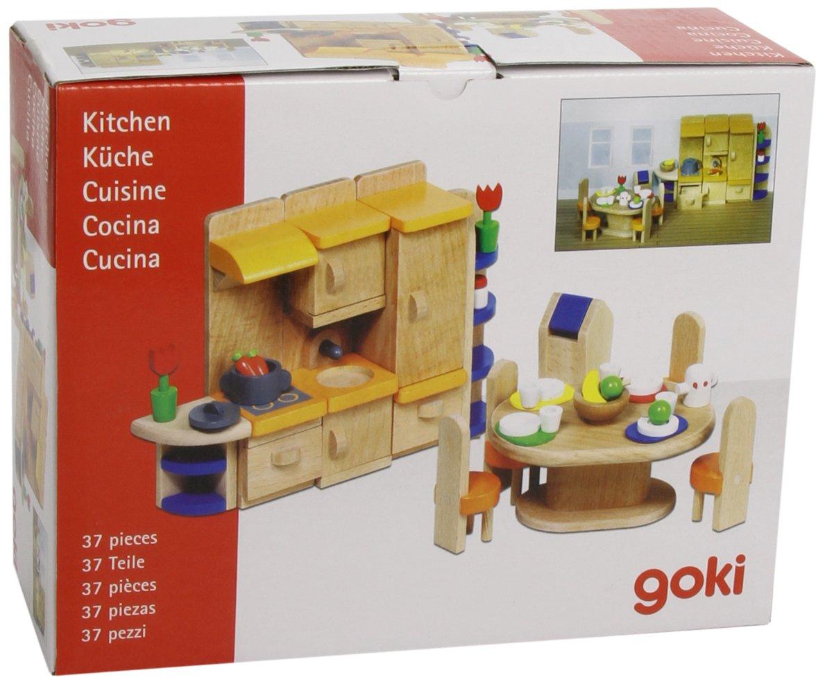 Puppenhausmöbel küche (37 teilig): amazon.de: spielzeug