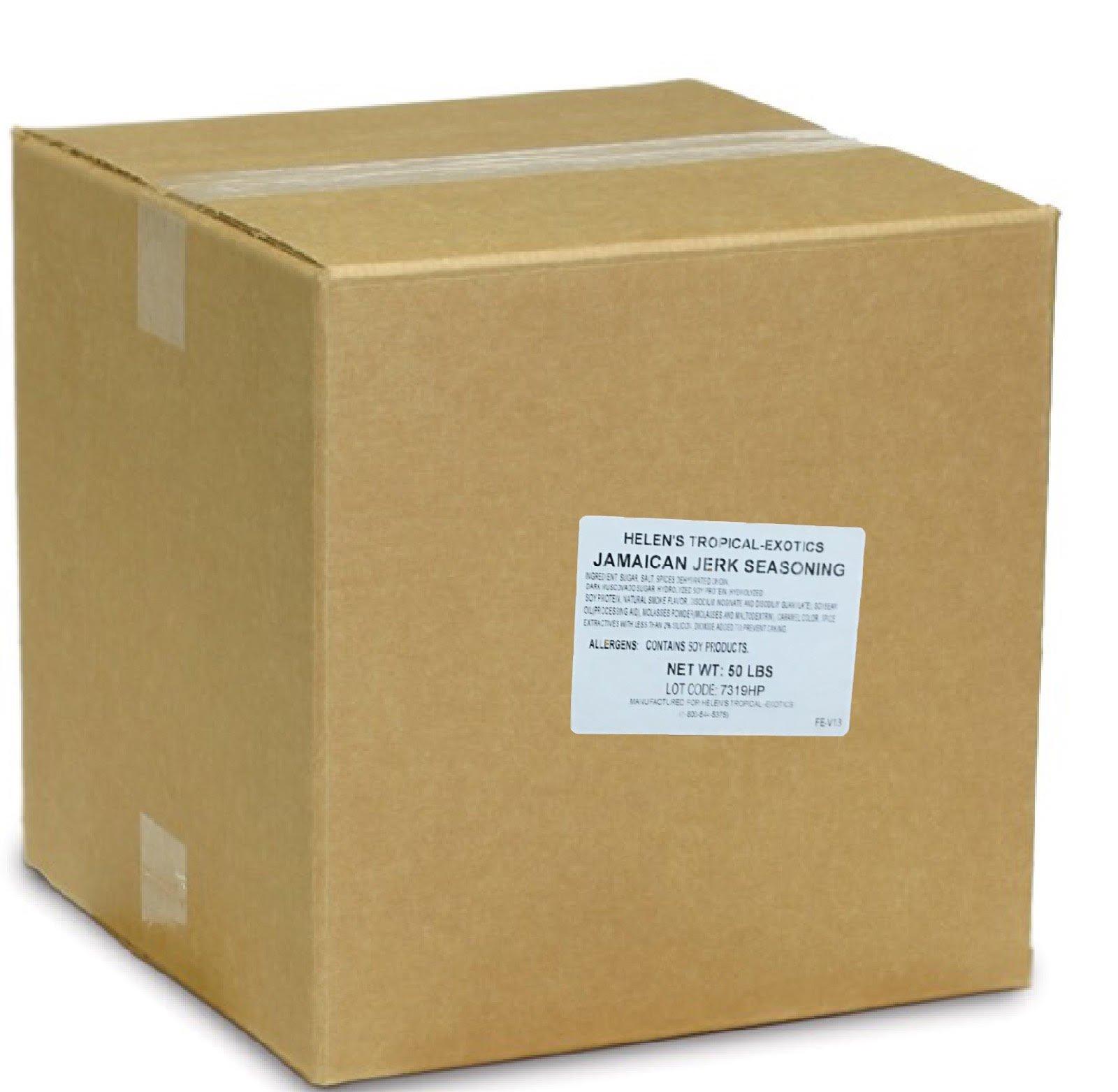 Helens Jamaican Jerk Seasoning - 50 lb Box - BBQ Caribbean Dry Rub