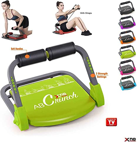 Body Shaper Equipment 3 Levels of Resistance Phoenix Fitness 10 in 1 Magic Body Builder for Ab and Core Workout Training Magic BB Trainer All-in-1 All Round Home Exercise Abs Stomach Machine