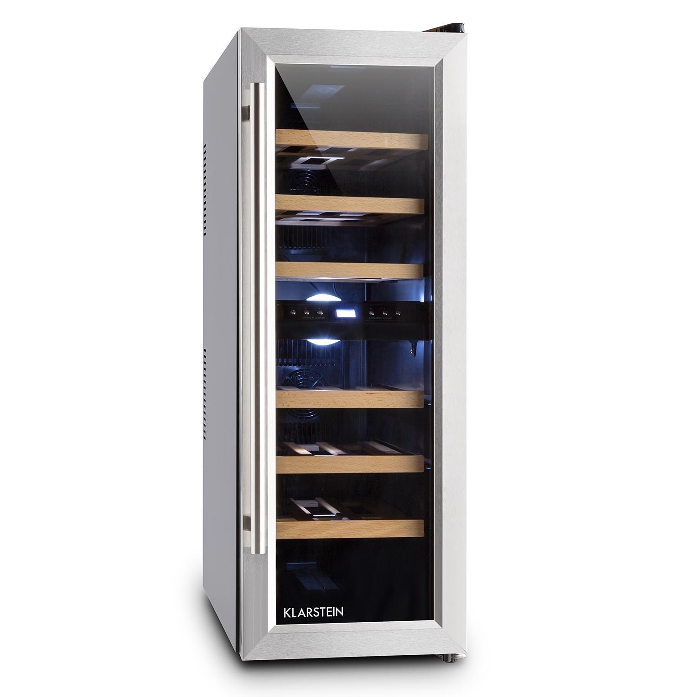 Klarstein Reserva Duett 12 • Weinkühlschrank • Getränkekühlschrank