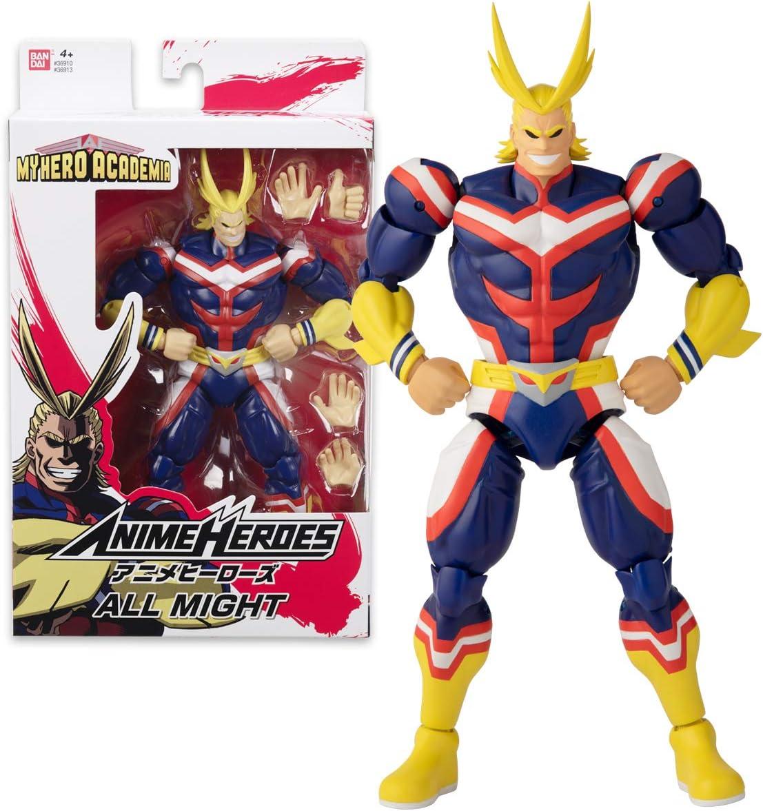 Anime Heroes - ALL MIGHT Figura de acción My Hero Academia (Bandai 36913): Amazon.es: Juguetes y juegos