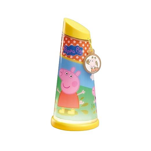 Peppa Pig Linterna giratoria, Rosa: Amazon.es: Iluminación