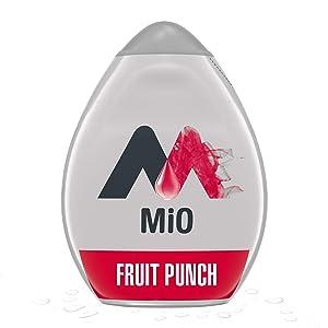 Mio Fruit Punch Liquid Water Enhancer Drink Mix (1.62 Ounce Bottle)