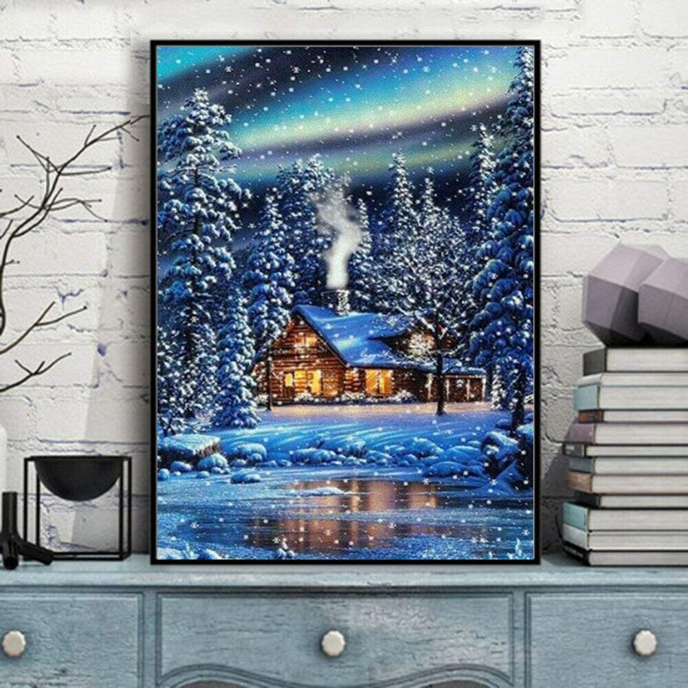 5D Diamond Painting Kits for Adults Full Drill Rhinestone Embroidery Dotz Craft Cross Stich Gift Home Decor Large Size 40x50cm//16x20inch
