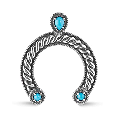 Amazon american west sterling silver and sleeping beauty american west sterling silver and sleeping beauty turquoise naja pendant sleeping beauty collection aloadofball Images