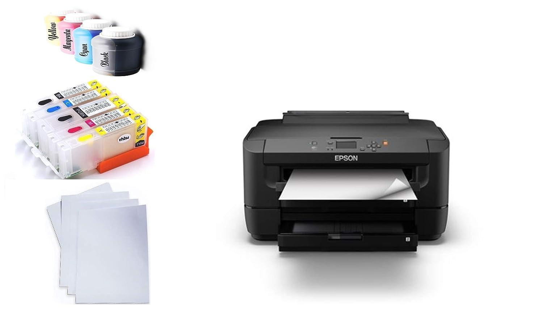 Impresora de sublimación DIN A3 Incluye 200 ml + de Tinta Incluye ...