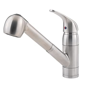 Pfister Pfirst Series 1Handle PullOut Kitchen Faucet Stainless
