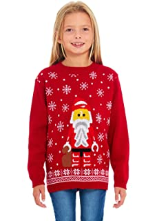 Elf Football Jumper Sweater Christmas Xmas 2019 Exclusively to for Ages 2-14 Years Retro New Camp Ltd Boys Girls Kids Children Unisex Christmas Xmas Knitted Novelty