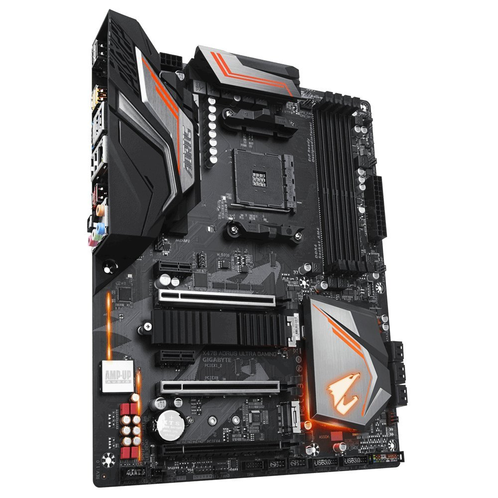 Gigabyte X470 Aorus Ultra Gaming - ATX Placa base, color negro ...