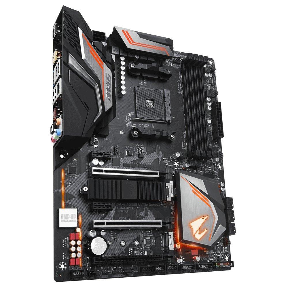 Gigabyte X470 Aorus Ultra Gaming - ATX Placa base, color negro ...