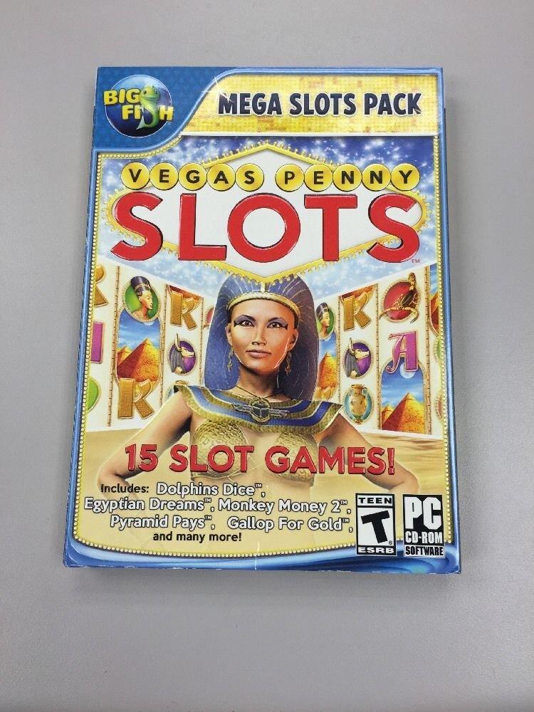 Big Fish Mega Slots Pack Vegas Penny Slots 15 Slot Games Buy