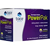 Trace Minerals – Power Pak (Acai Berry)   Electrolyte Powder Packets with Vitamin C & Zinc   Powerful Hydration, Immune, Stam