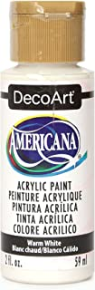 product image for DecoArt Americana Acrylic Paint, 2-Ounce, Warm White