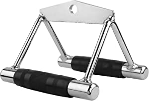 Cable Machine Handle Attachments, Rowing Machine Handle Set Pull Down Exercise Handles