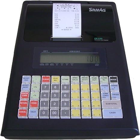 Sam4s ER-230 caja registradora, portátil caja registradora, er230 ...