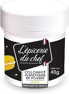 Food coloring powder 40 g - Yellow