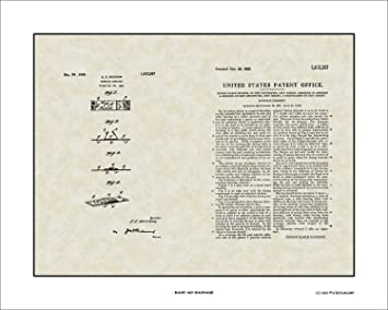 Who Invented The Band Aid >> Amazon Com Band Aid Bandage Patent Art Wall Hanging Doctor Nurse
