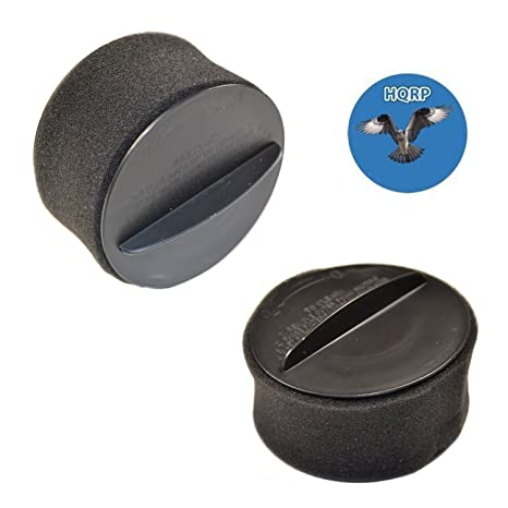 HQRP 2 Filtros circulares para Bissell PowerForce Helix Turbo Bagless 68C71 2140